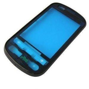 Etupaneeli Nokia P350 silver-musta