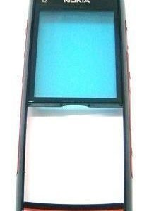 Etupaneeli Nokia X2-00 red