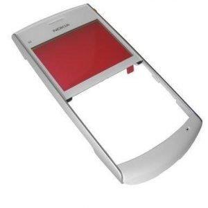 Etupaneeli Nokia X2-01 silver