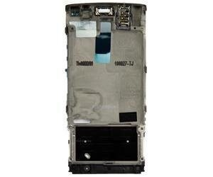 Etupaneeli Nokia X3-02 dark metal