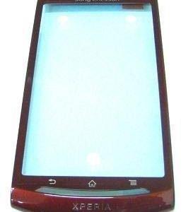 Etupaneeli Sony Ericsson MT15i Neo red Alkuperäinen
