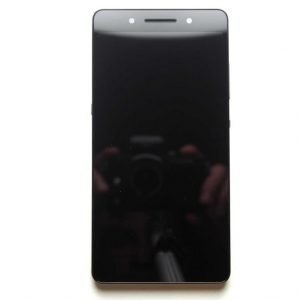 Etupaneeli kosketuspaneelilla Näyttö ilman kehystä Huawei Honor 7 mustaAlkuperäinen