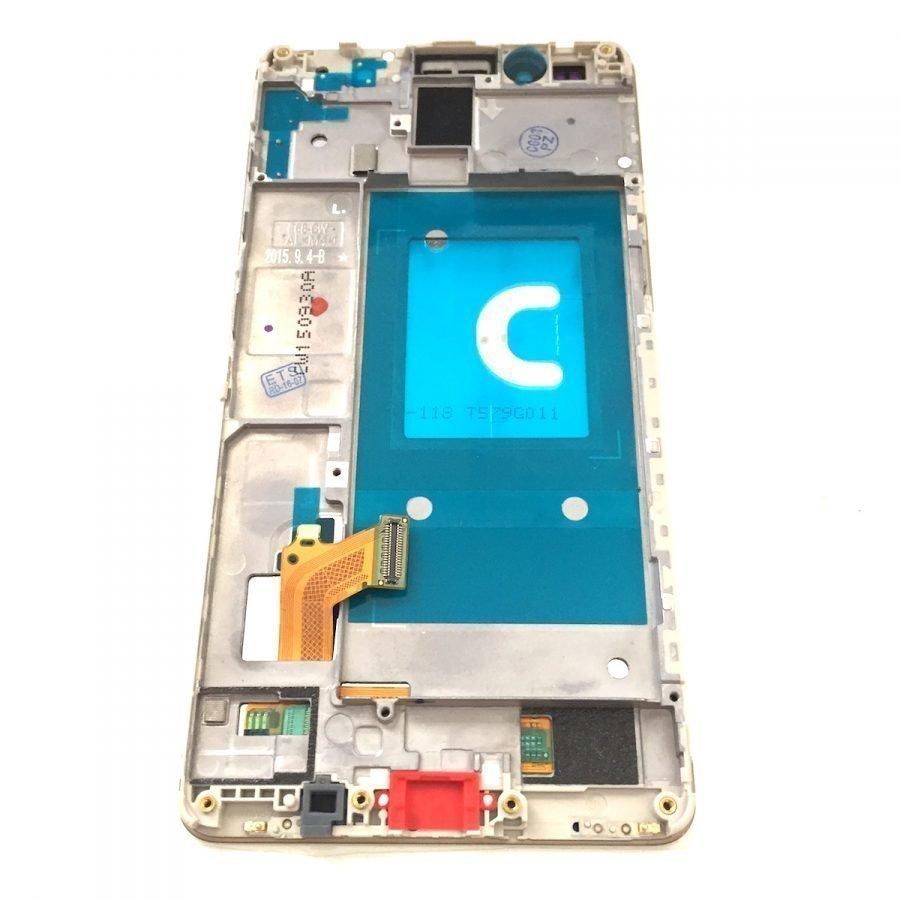 Etupaneeli kosketuspaneelilla Näyttö + runko Huawei Honor 7 / 7 Premium kulta Alkuperäinen
