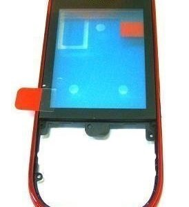 Etupaneeli kosketuspaneelilla Nokia 202 Asha/ 203 Asha red