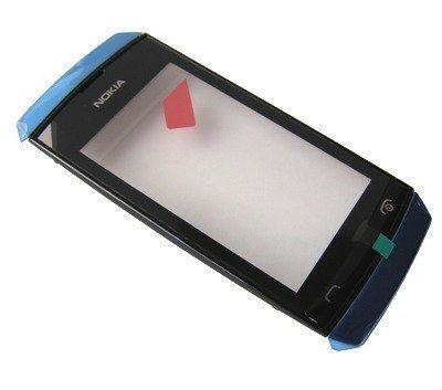 Etupaneeli kosketuspaneelilla Nokia 305 Asha/ 306 Asha blue