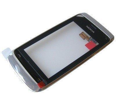 Etupaneeli kosketuspaneelilla Nokia 309 Asha/ 310 Asha valkoinen