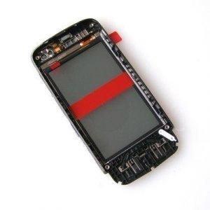 Etupaneeli kosketuspaneelilla Nokia 311 Asha graphite