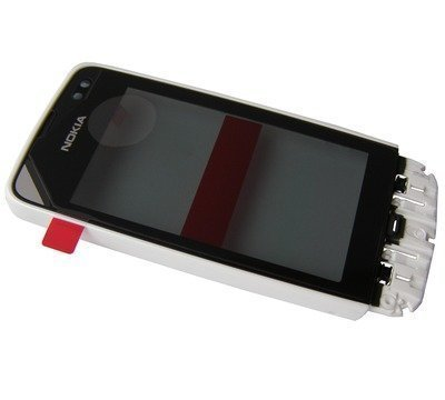 Etupaneeli kosketuspaneelilla Nokia 311 Asha valkoinen