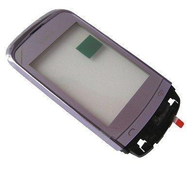 Etupaneeli kosketuspaneelilla Nokia C2-02/ C2-03/ C2-06/ C2-07/ C2-08/ C2-09 lilac
