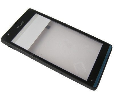 Etupaneeli kosketuspaneelilla Sony C5302/ C5303/ C5306 Xperia SP czarna