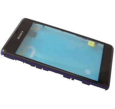 Etupaneeli kosketuspaneelilla Sony D2005/ D2004 Xperia E1/ D2105/ D2104/ D2114 Xperia E1 dual purple