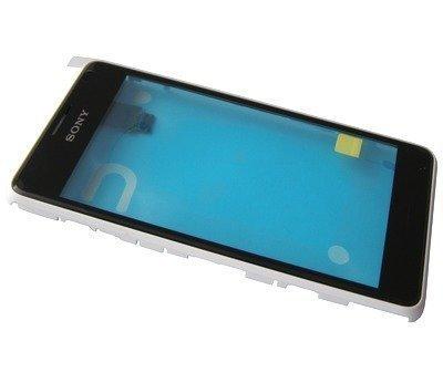 Etupaneeli kosketuspaneelilla Sony D2005/ D2004 Xperia E1/ D2105/ D2104/ D2114 Xperia E1 dual valkoinen
