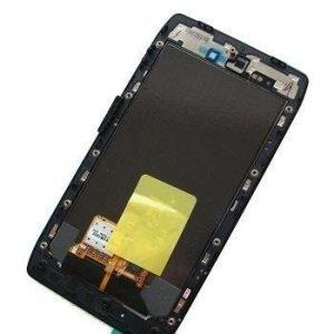 Etupaneeli kosketuspaneelilla and LCD Motorola XT910/ XT912 RAZR Alkuperäinen