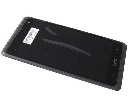 Etupaneeli kosketuspaneelilla and LCD Näyttö HTC Desire 600/ Desire 600 Dual SIM musta Alkuperäinen
