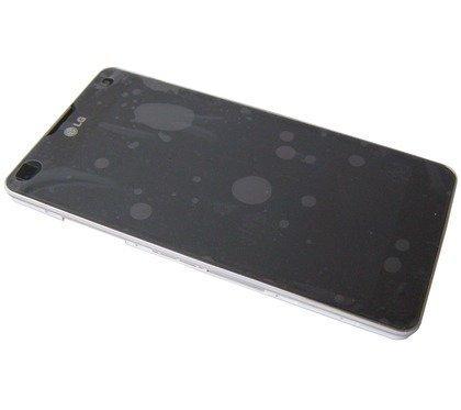 Etupaneeli kosketuspaneelilla and LCD Näyttö LG E975 Optimus G valkoinen Alkuperäinen