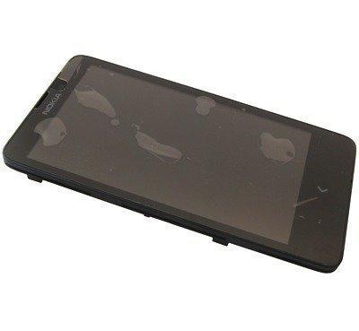 Etupaneeli kosketuspaneelilla and LCD Näyttö Nokia X/ X+ Alkuperäinen