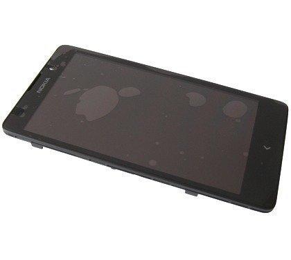 Etupaneeli kosketuspaneelilla and LCD Näyttö Nokia XL Alkuperäinen