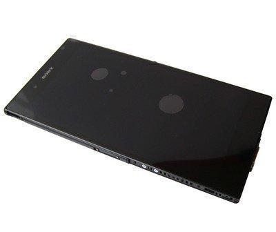 Etupaneeli kosketuspaneelilla and LCD Näyttö Sony C6802/ C6806/ C6833/ C6843 Xperia Z Ultra musta Alkuperäinen