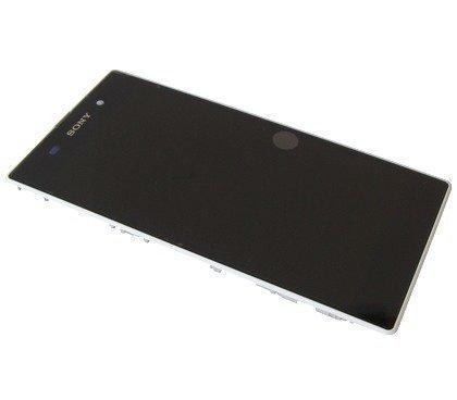 Etupaneeli kosketuspaneelilla and LCD Näyttö Sony C6902/ C6903/ C6906/ C6943 Xperia Z1 valkoinen Alkuperäinen