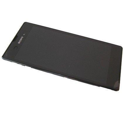 Etupaneeli kosketuspaneelilla and LCD Näyttö Sony D5102 Xperia T3 / D5103/ D5106 Xperia T3 LTE musta Alkuperäinen