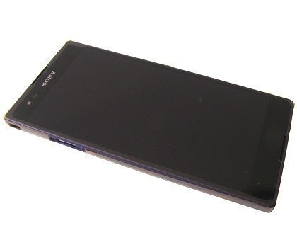 Etupaneeli kosketuspaneelilla and LCD Näyttö Sony D5322 Xperia T2 Ultra Dual purple Alkuperäinen