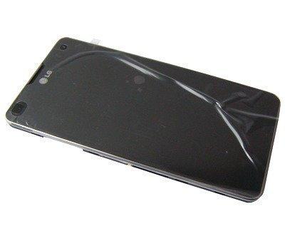 Etupaneeli kosketuspaneelilla and Näyttö LG E975 Optimus G musta Alkuperäinen