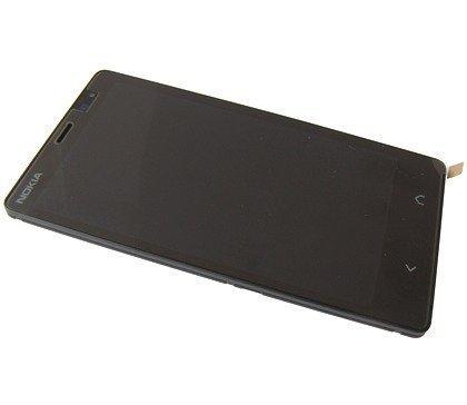 Etupaneeli kosketuspaneelilla and Näyttö Nokia X2 Alkuperäinen