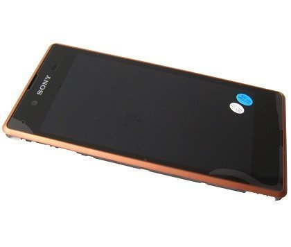 Etupaneeli kosketuspaneelilla and Näyttö Sony D2202 / D2203 / D2206 Xperia E3 copper Alkuperäinen