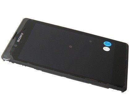 Etupaneeli kosketuspaneelilla and Näyttö Sony D2202 / D2203 / D2206 Xperia E3 musta Alkuperäinen