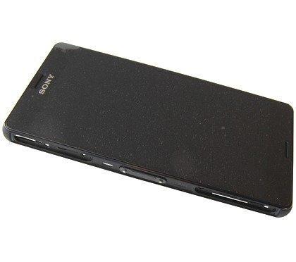 Etupaneeli kosketuspaneelilla and Näyttö Sony D5803 / D5833 Xperia Z3 Compact musta Alkuperäinen