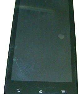 Etupaneeli kosketuspaneelilla and Näyttö Sony ST26 / Xperia ST26I J Alkuperäinen