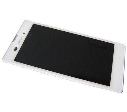 Etupaneeli kosketuspaneelilla and Näyttö Sony Xperia T3 D5102 / D5103 / D5106 Xperia T3 LTE valkoinen Alkuperäinen
