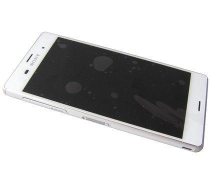 Etupaneeli kosketuspaneelilla and Näyttö SonyD6633 Xperia Z3 Dual SIM valkoinen Alkuperäinen