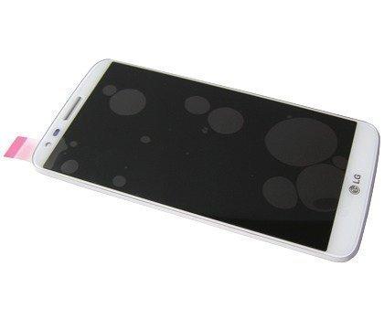 Etupaneeli kosketuspaneelilla and lcd Näyttö LG D802 Optimus G2 valkoinen Alkuperäinen
