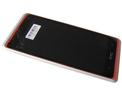 Etupaneeli kosketuspaneelilla ja LCD HTC Desire 600 silver