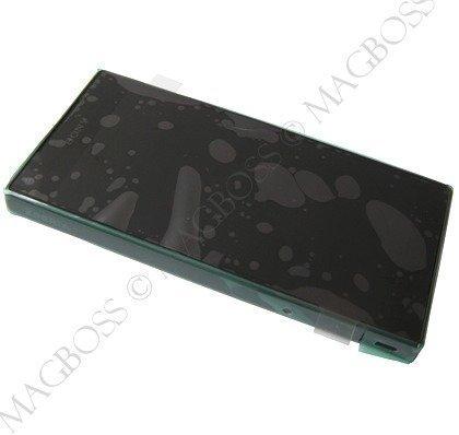 Etupaneeli kosketuspaneelilla ja LCD näytöllä Sony E5803 / E5823 Xperia Z5 Compact musta Alkuperäinen