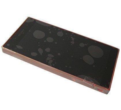 Etupaneeli kosketuspaneelilla ja LCD näytöllä Sony Xperia LCD Sony E6603/ E6653 Xperia Z5 Kulta Alkuperäinen