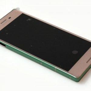 Etupaneeli kosketuspaneelilla ja LCD näytöllä Sony Xperia X / F5122 / Xperia X Dual Rose Gold / Ruusukulta