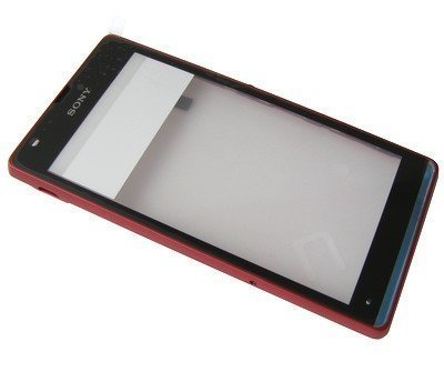 Etupaneeli + tuch screen Sony C5302/ C5303/ C5306 Xperia SP red