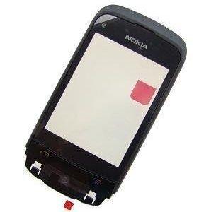 Etupaneeli witch touch Nokia C2-02/ C2-03/ C2-06/ C2-07/ C2-08/ C2-09- musta Alkuperäinen