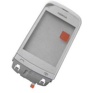 Etupaneeli witch touch Nokia C2-02/ C2-03/ C2-06/ C2-07 C2-08/ C2-09- valkoinen Alkuperäinen