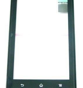 Etupaneeli with digitizer Sony MT27i Xperia SOLA musta Alkuperäinen