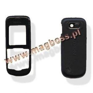 Etupaneeli+Akkukansi / Takakansi Nokia 2600c musta