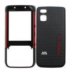 Etupaneeli+Akkukansi / Takakansi Nokia 5610 red