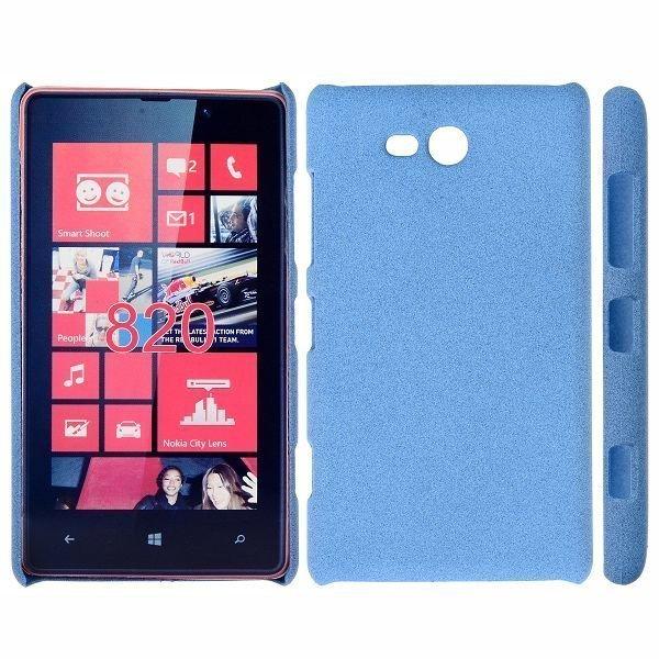 Feather Shell Vaaleansininen Nokia Lumia 820 Suojakuori