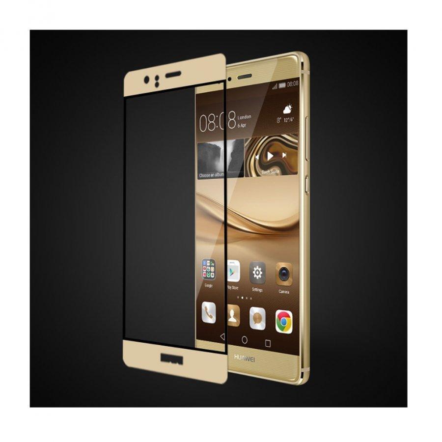Fema 3d Karkaistu Lasi Näytönsuoja Huawei P9 Puhelimelle Kulta