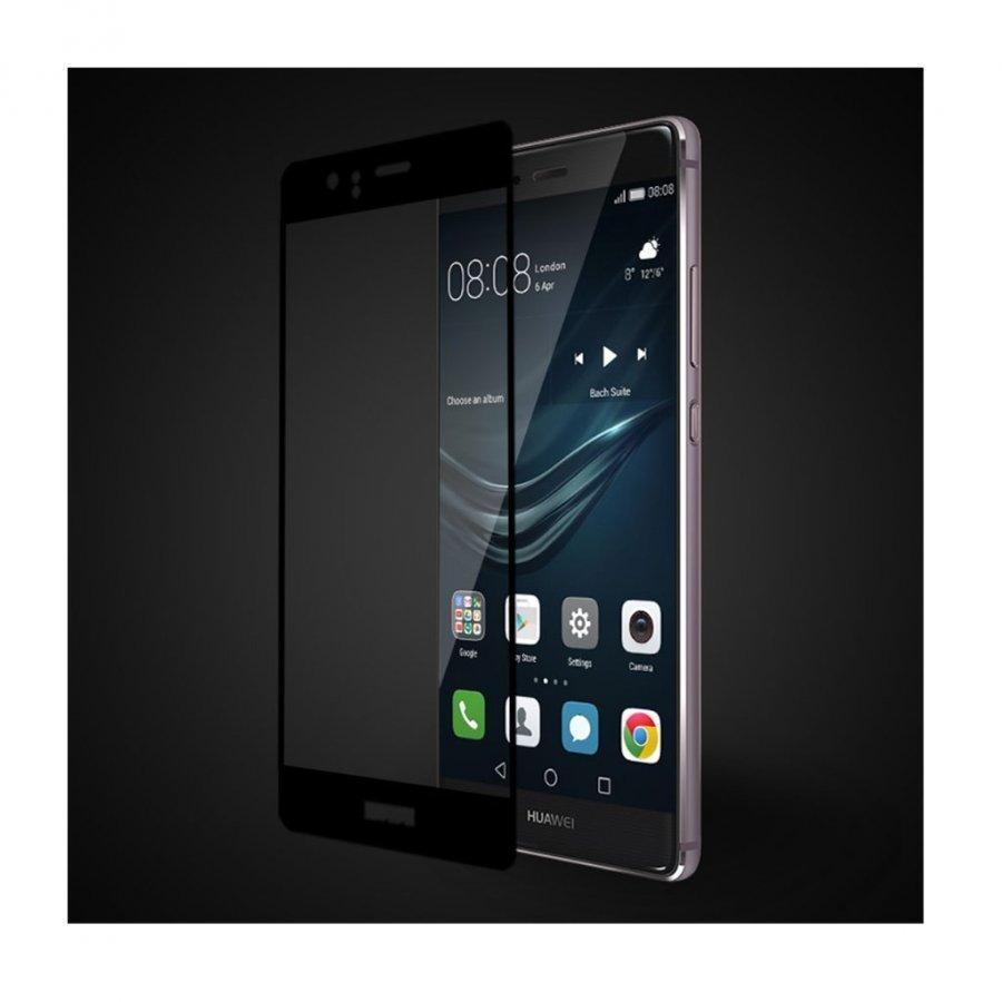 Fema 3d Karkaistu Lasi Näytönsuoja Huawei P9 Puhelimelle Musta