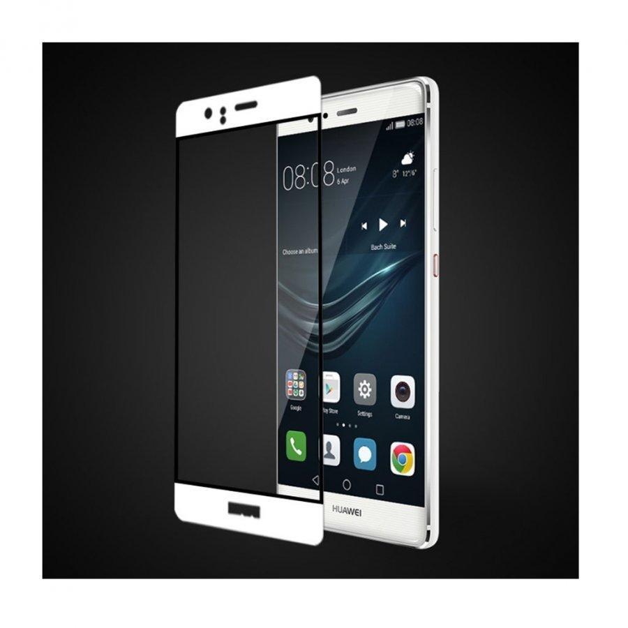 Fema 3d Karkaistu Lasi Näytönsuoja Huawei P9 Puhelimelle Valkoinen
