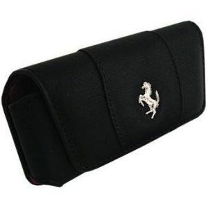 Ferrari GT Modena Horizontal Leather Case for iPhone Black