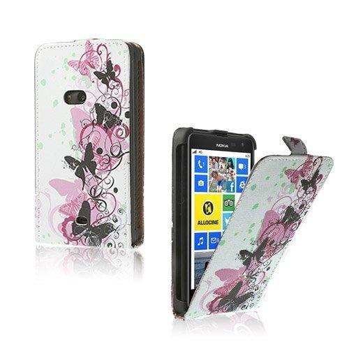 Festival Neljä Perhosta Nokia Lumia 625 Nahkakotelo